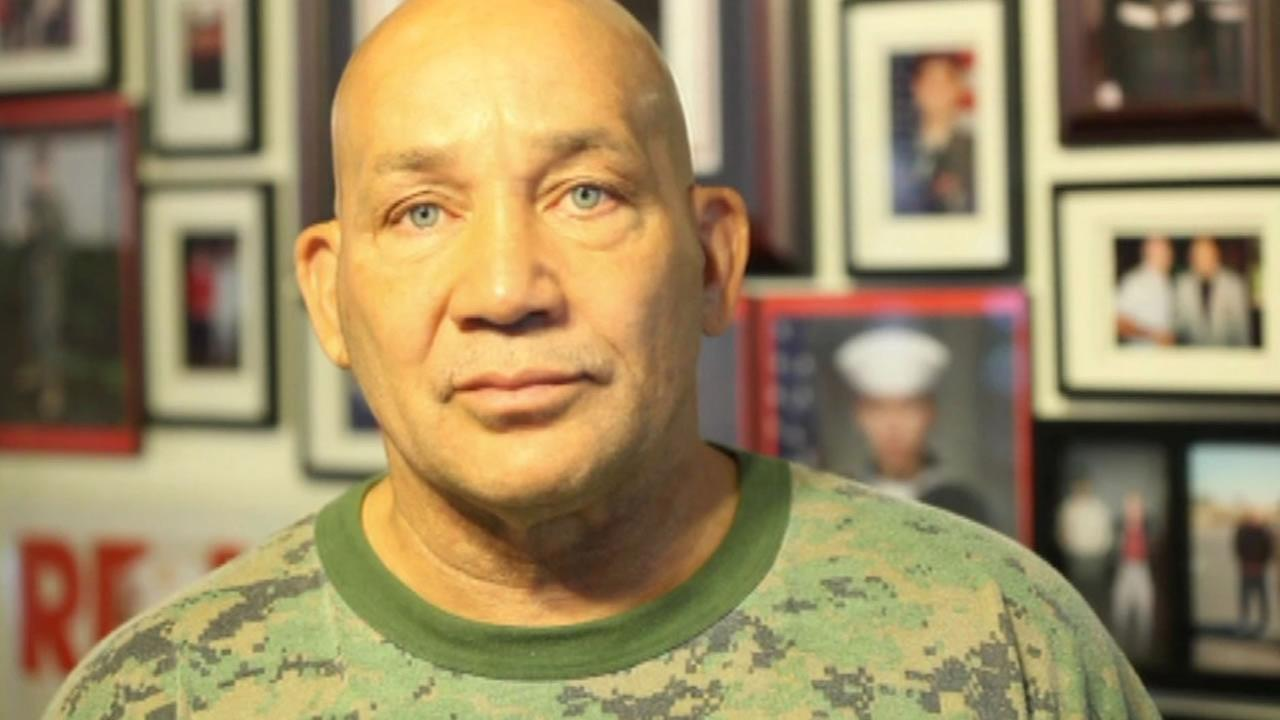 Fake Marine Greg Allen who owned a gym called House of Steel in San Rafael, Calif. is accused of abusive training by some of the young men who frequented the gym.