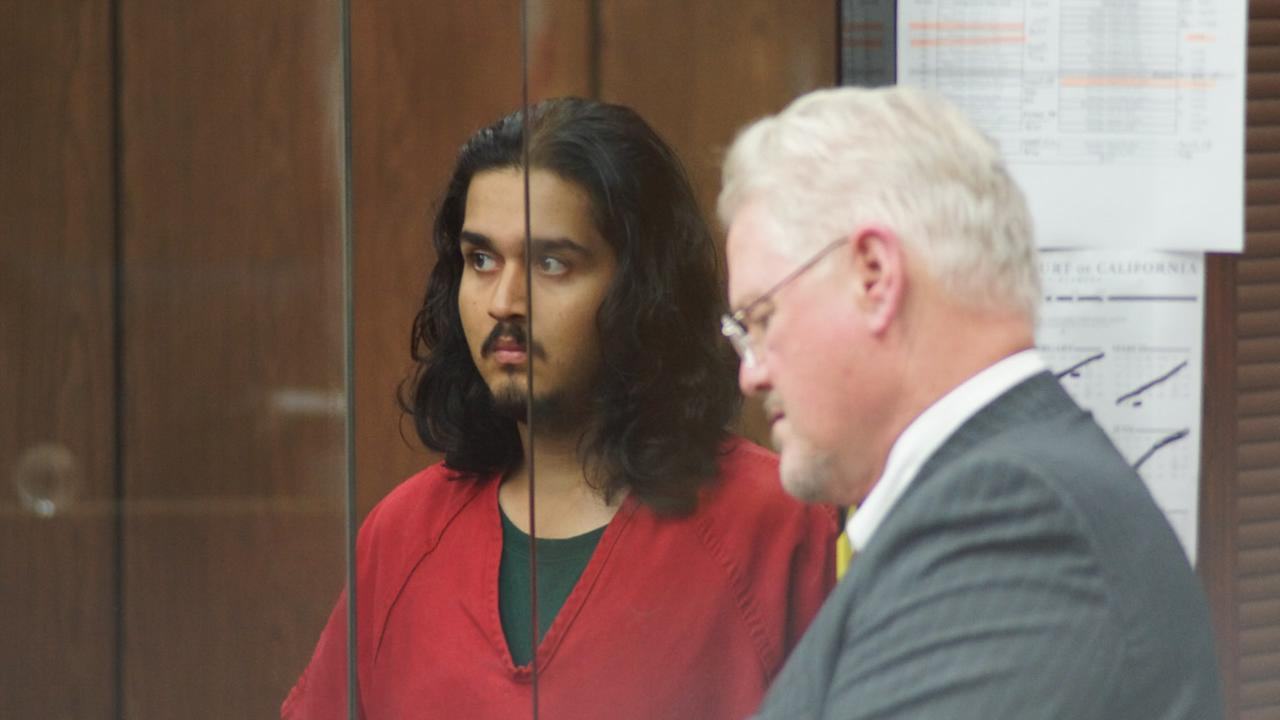 Mark Estrada, 21, was arraigned on Friday, July 24, 2015, in Hayward, Calif. for the shooting death of Hayward Police Sergeant Scott Lunger.