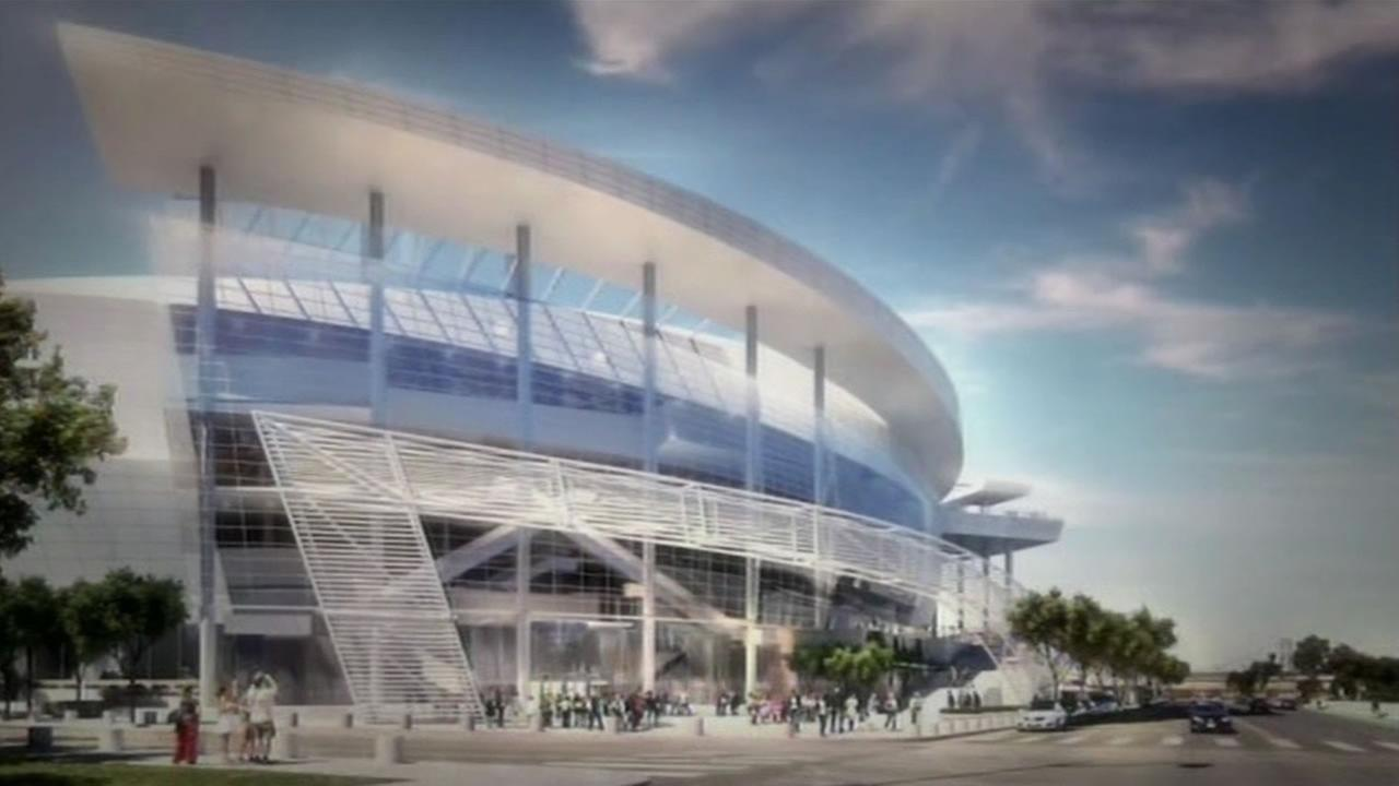 The Golden State Warriors want to build a new arena across the street from UCSFs medical center in the citys Mission Bay District.