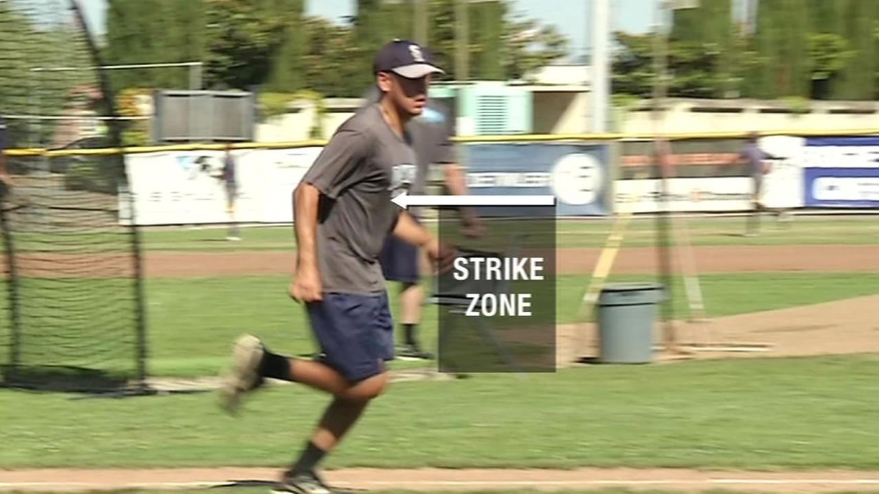 On Tuesday night, a minor league baseball team in Marin County says its making history by using technology to replace a human umpire.