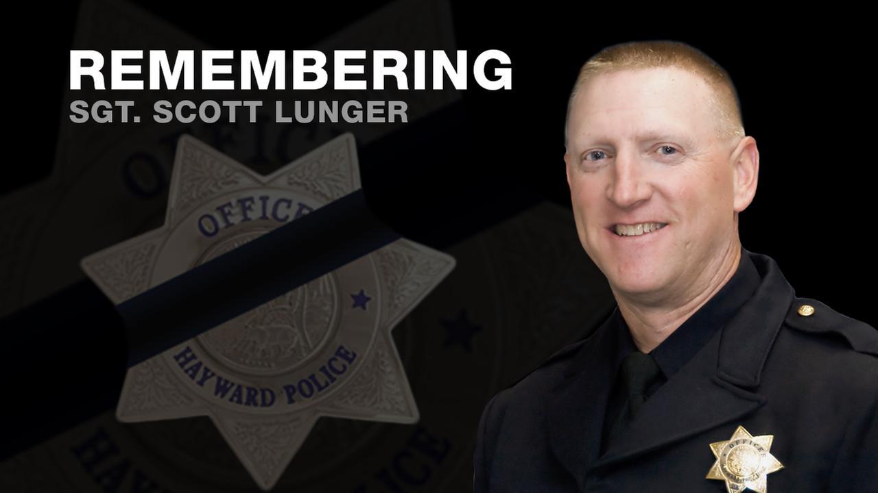 Fallen Hayward Police Sgt. Scott Lunger