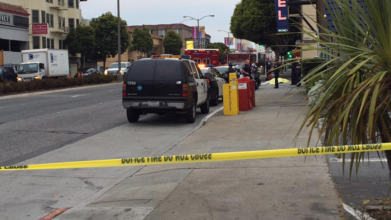San Francisco police investigation after one person killed following hit-and-run.