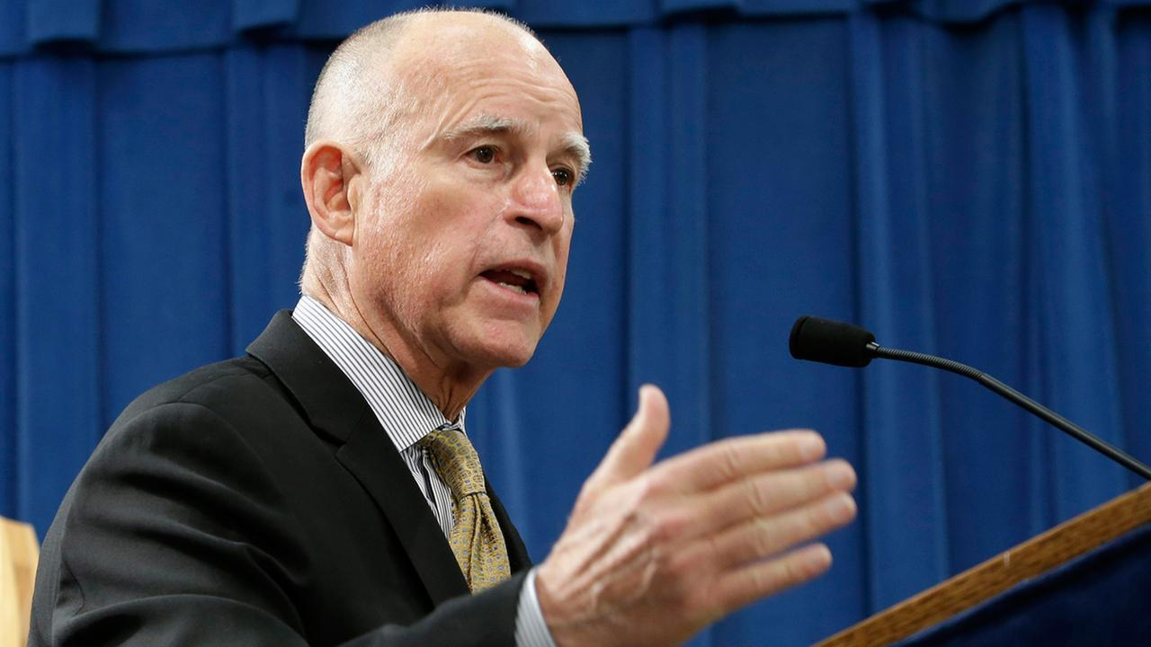 California Governor Jerry Brown (AP)