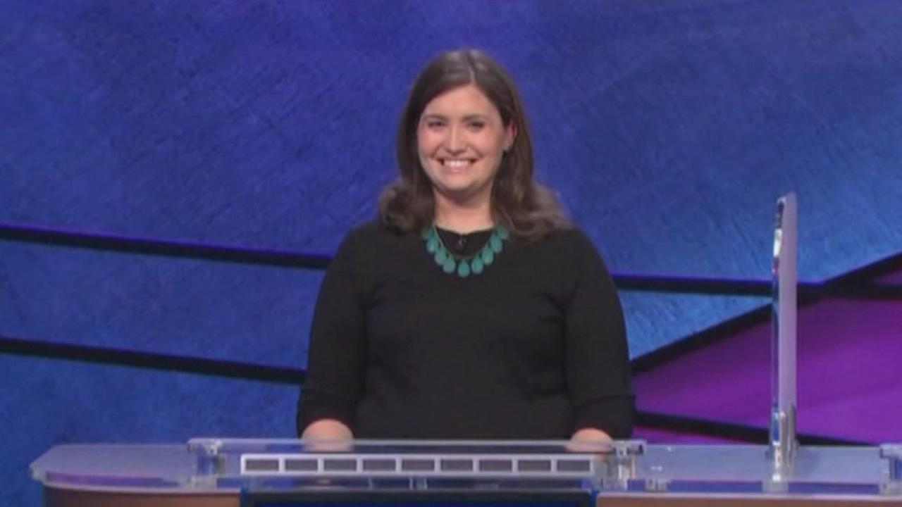 Jeopardy champ Julia Collins