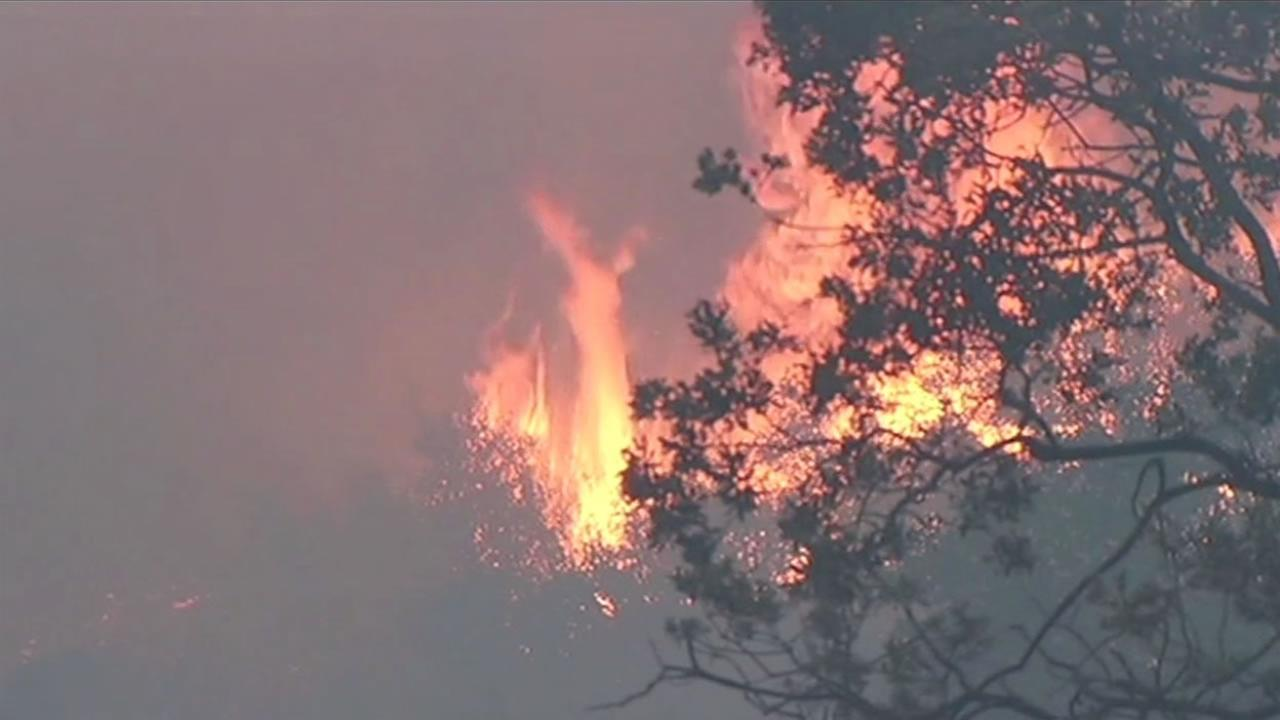 The Rocky Fire in Lake County near Clear Lake is burning out of control, charring more than 22,500 acres. It is still just five percent contained as of Saturday, August 1, 2015
