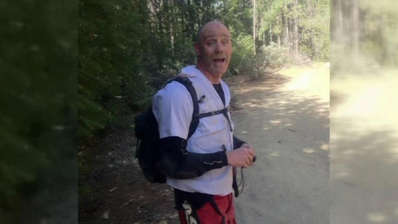 San Francisco teacher Ed Cavanaugh was last seen on July 17 riding a motorcycle with a friend in the El Dorado National Forest.