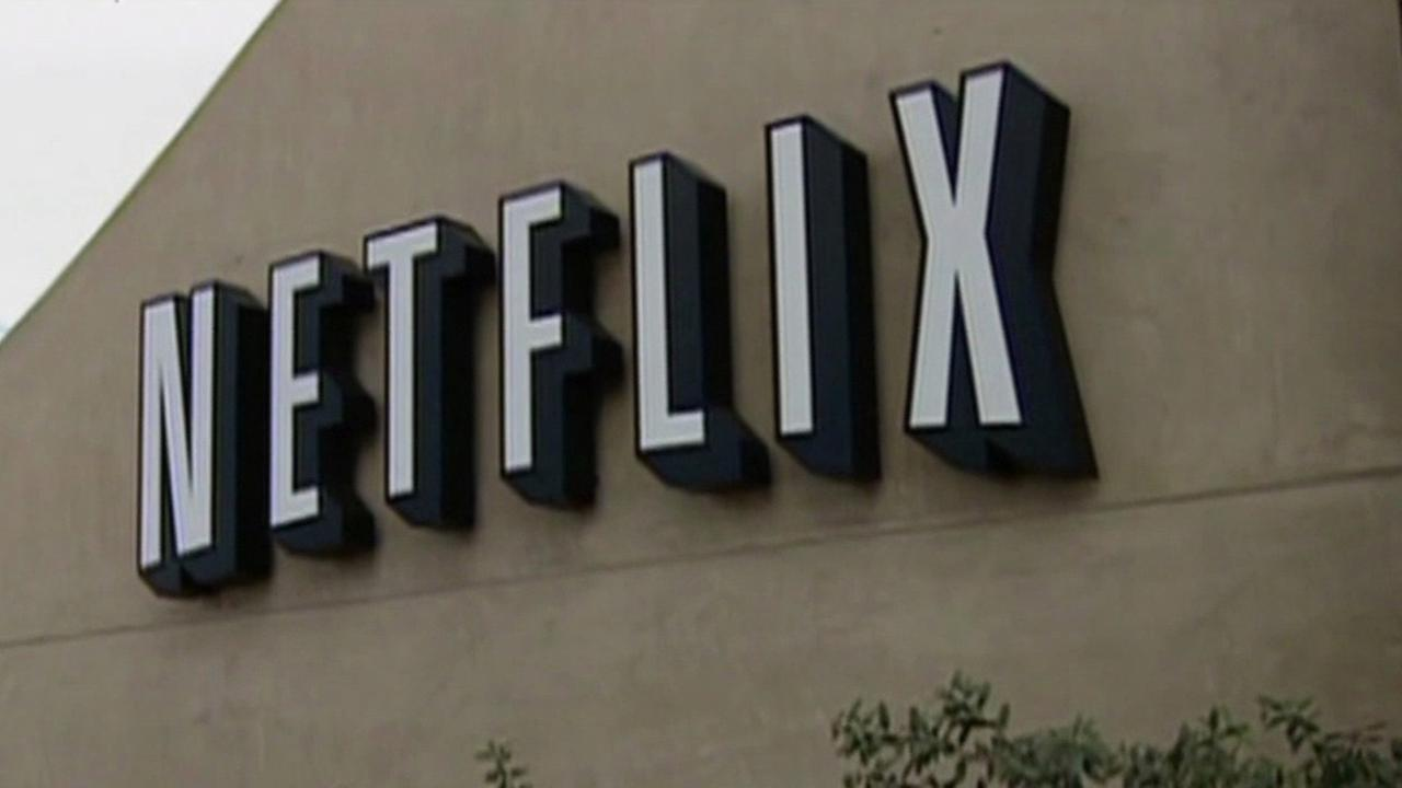 FILE -- Netflix headquarters in Los Gatos, California.