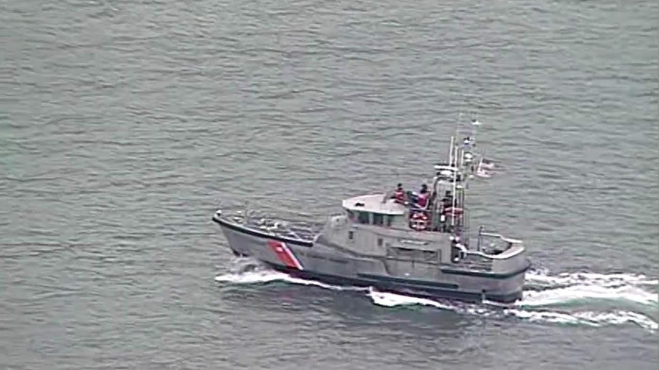 US Coast Guard responding after body was reported in the water near Angel Island on Tuesday morning.