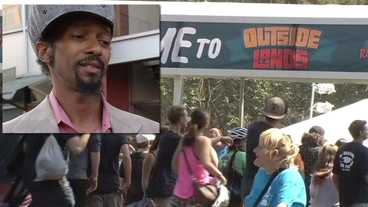 Oakland musician Fantastic Negrito was banned from playing at Outside Lands after police accused his of scalping, August 8, 2015.