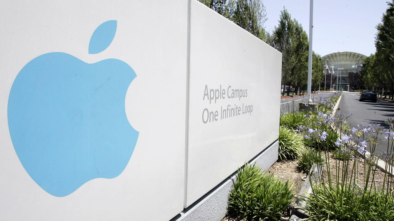 This June 24, 2009 file photo shows Apple headquarters in Cupertino, Calif.