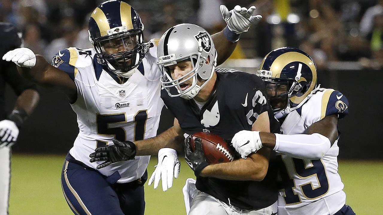 Oakland Raiders wide receiver Kris Durham