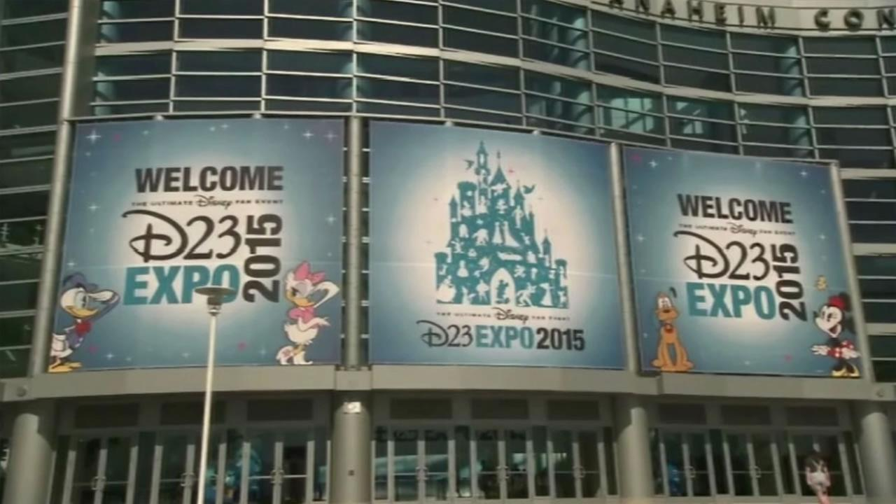A new Disney event called D23 Expo kicked off Friday, August 14, 2015 in Anaheim, Calif.