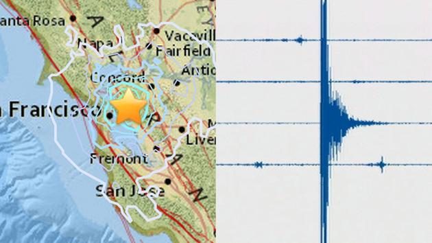 usgs seismograph and earthquake map monday august 17 2015