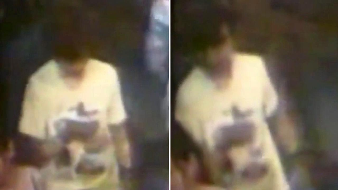 Thai police believe a man seen in security video wearing a yellow T-shirt and carrying a backpack set off the explosion in Bangkok.