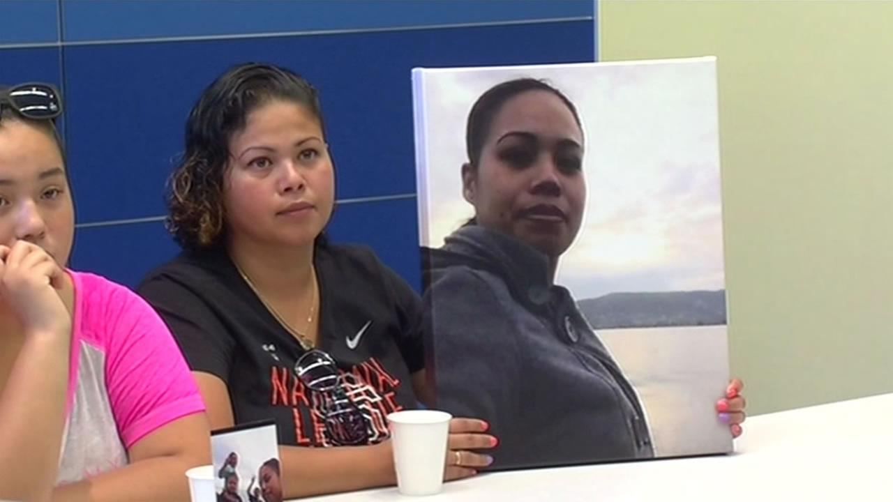 The family of 36-year-old Maria Soza held a news conference Tuesday, August 18, 2015 and asked anyone with information about Sozas murder in January to come forward.