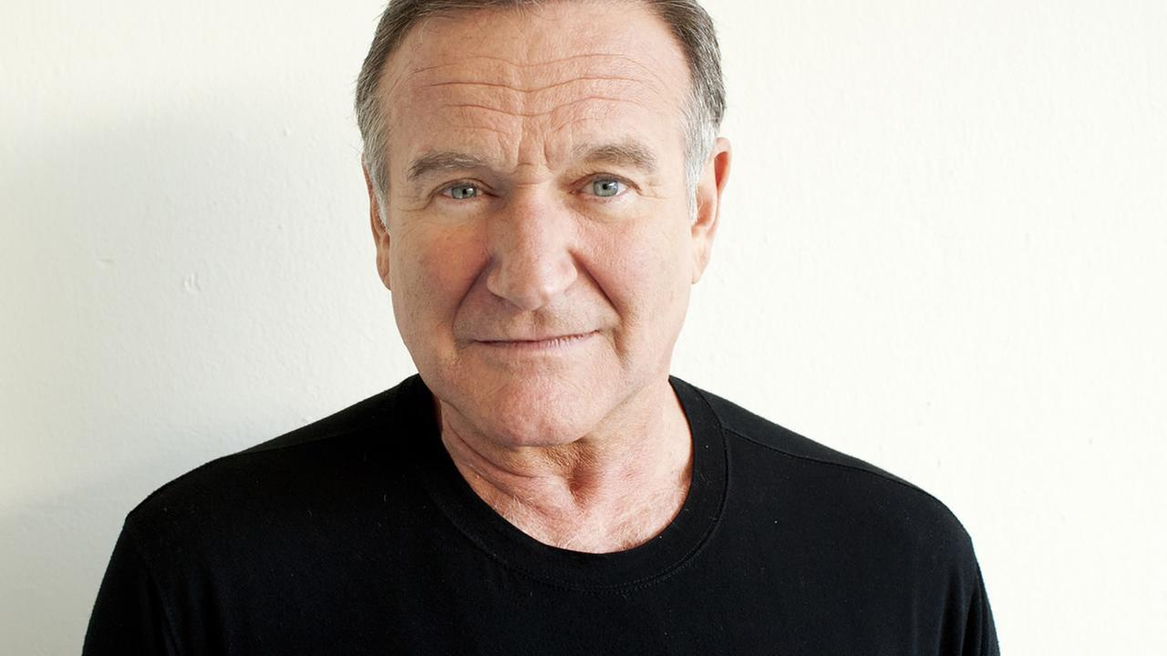 FILE - In this Nov. 5, 2011 file photo, actor Robin Williams poses for a portrait during the Happy Feet Press Junket in Beverly Hills, Calif. (Photo by Dan Steinberg/Invision/AP)