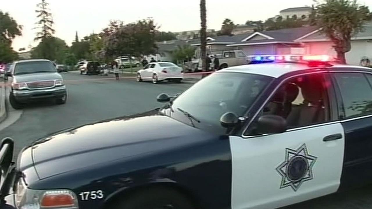 San Jose police car