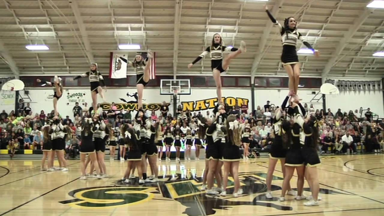 California state lawmakers have sent a bill to Governor Browns desk that would recognize cheerleading as an official high school sport.