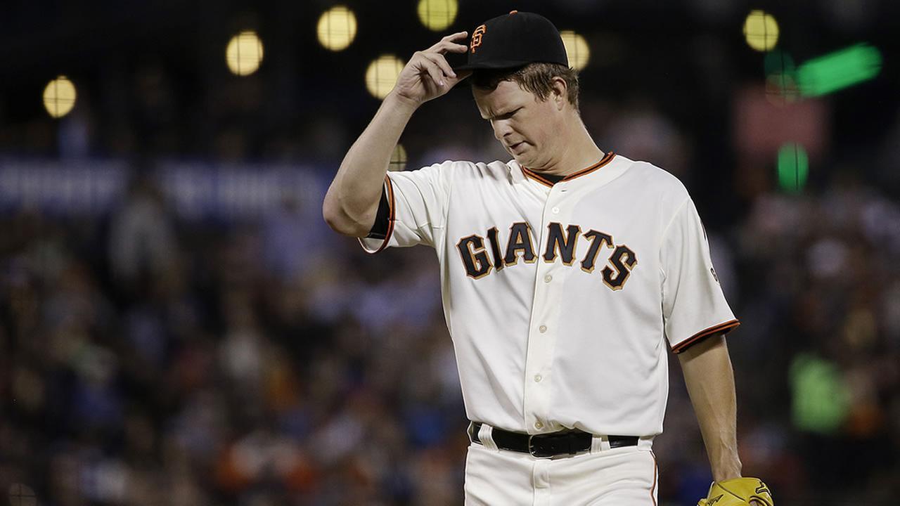 San Francisco Giants pitcher Matt Cain