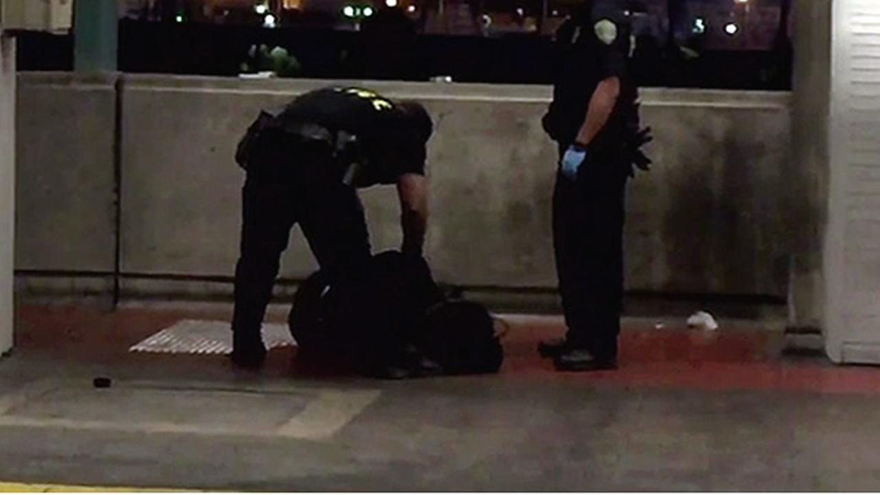 BART police arrest man accused of shooting himself in stomach at West Oakland BART Station