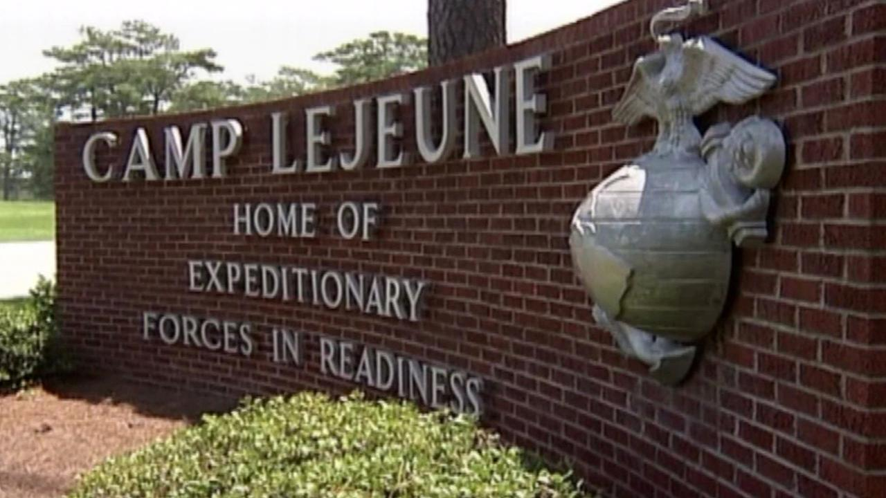 FILE -- Camp Lejeune in North Carolina.