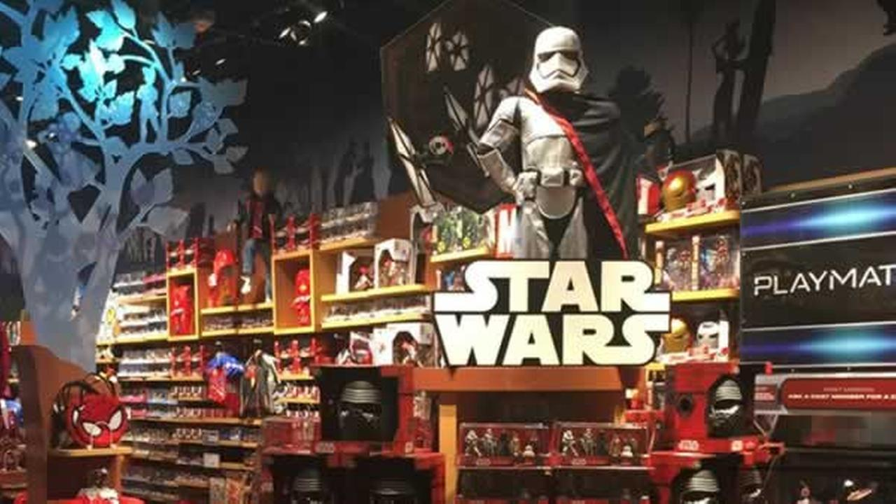 Its Force Friday around the world as ABC7 parent company Disney released new Star Wars merchandise.