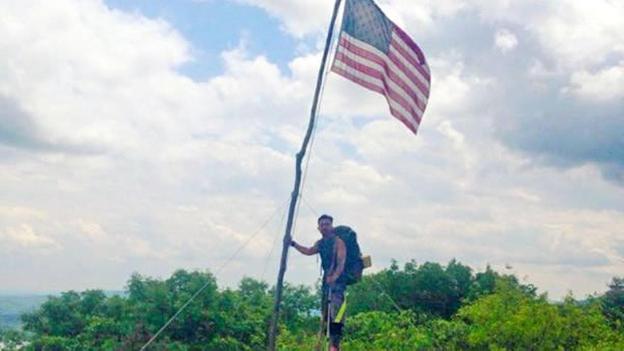 A San Jose veteran honored his fallen comrade by hiking the Appalachian Trail.