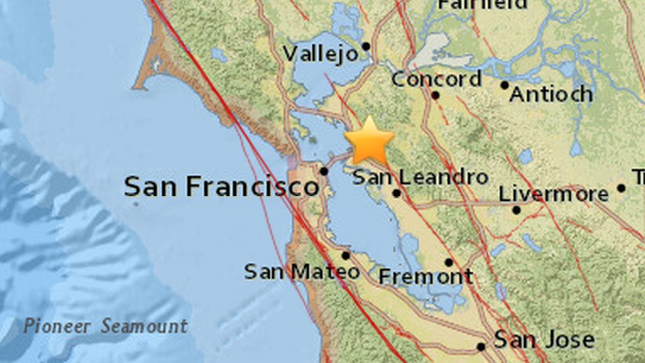 2 5 magnitude earthquake reported in berkeley