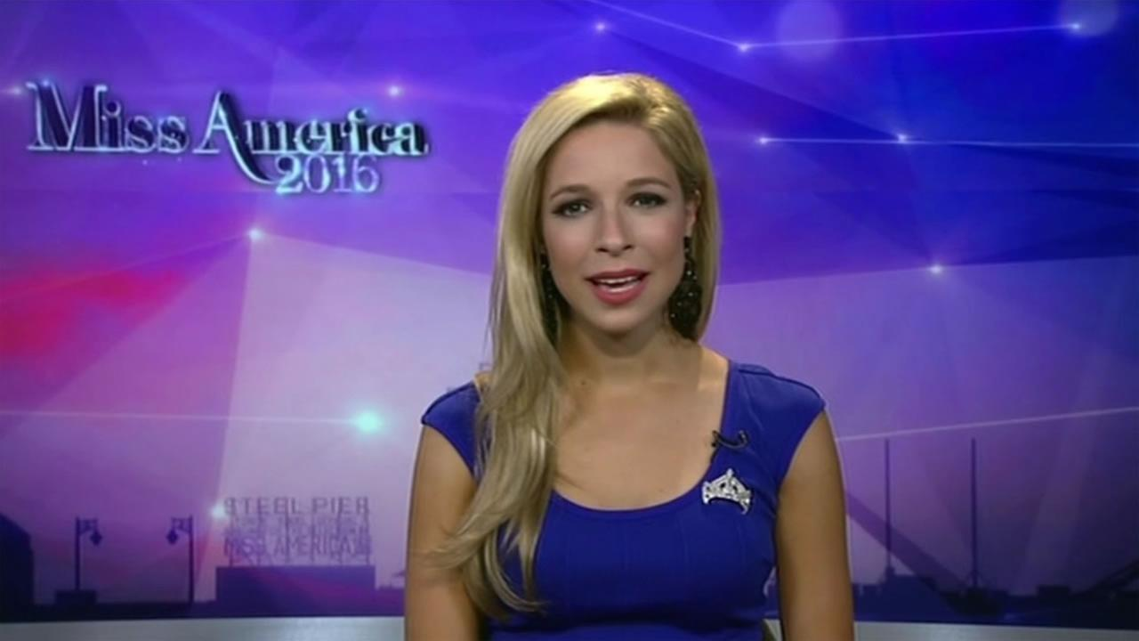 The 2015 Miss America, Kira Kazantsev, will hand over her crown Sunday, Sept. 13, 2015 during the 2016 Miss America Pagaent.