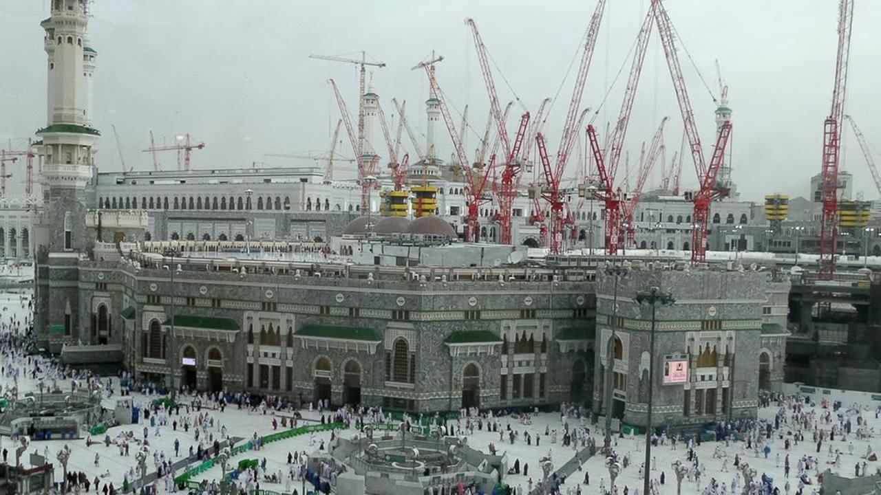More than 60 people were killed after a crane collapsed on the Grand Mosque in the holy city of Mecca on Friday, September 11, 2014.