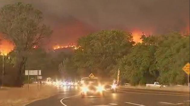 Valley Fire spreads to over 25,000 acres; thousands evacuated