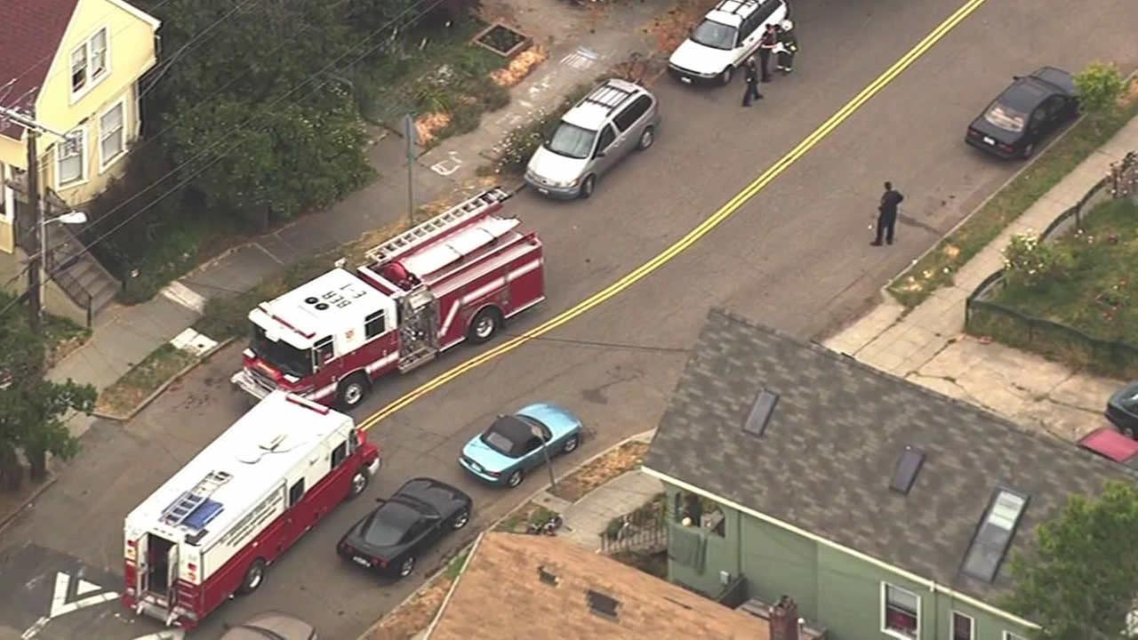 Officials evacuated several homes in Berkeley after they found suspected hazardous materials at a home while serving a search warrant on Friday.
