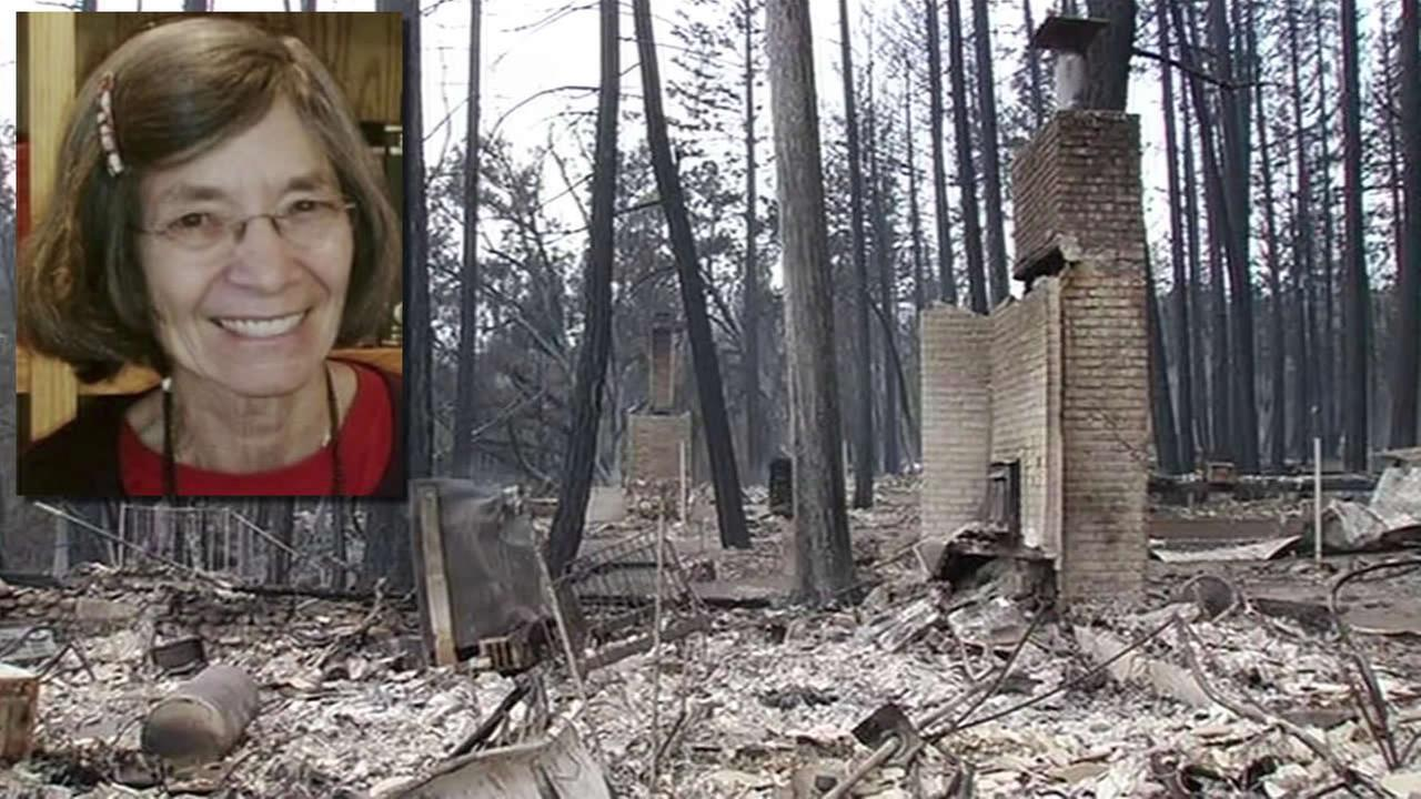 On Monday, September 4, 2015, the woman killed by the fast-moving Valley Fire in Anderson, Calif. was identified as 72-year-old Barbara McWilliams.