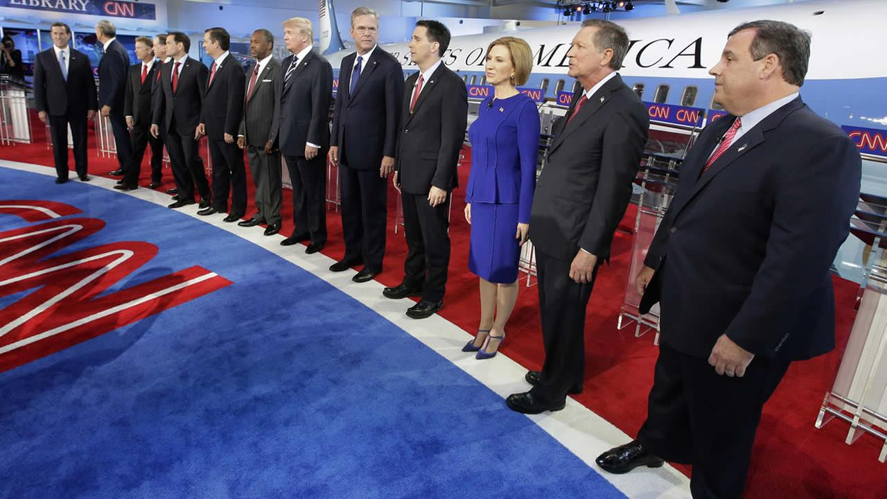 GOP candidates debate Russia, immigration -- and Donald ...