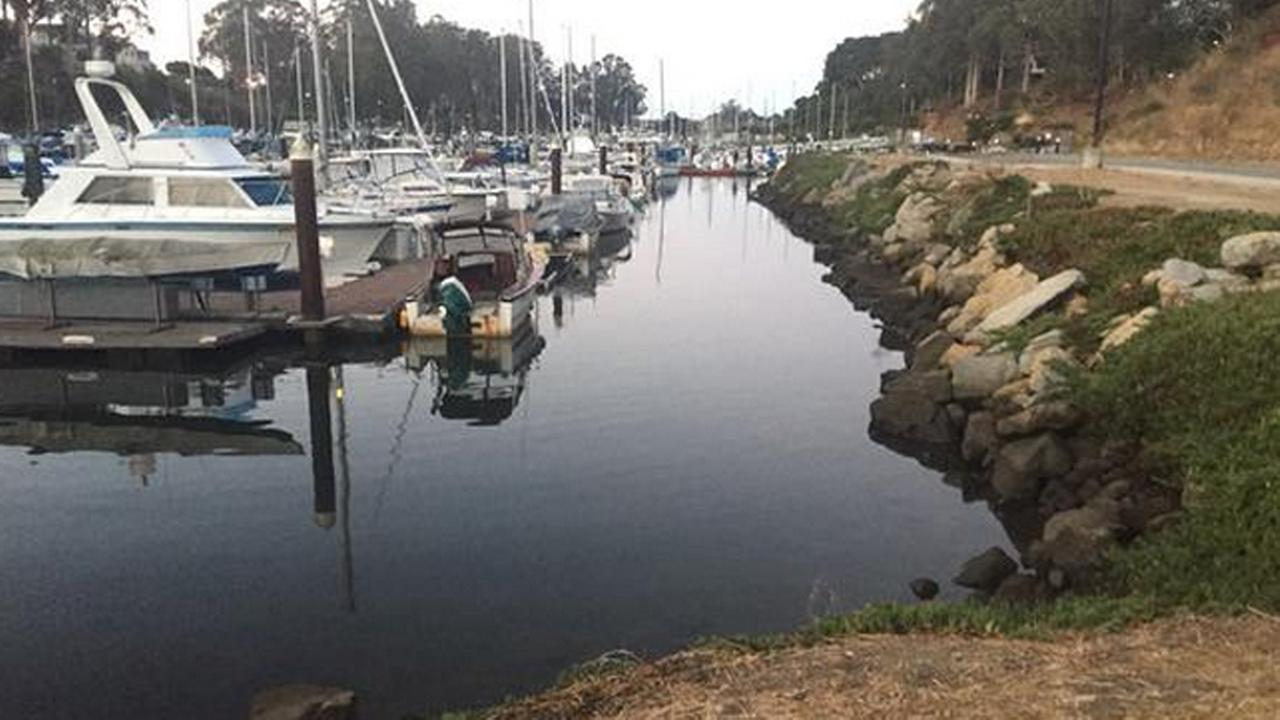 Santa Cruz Harbor, Thursday, September 17, 2015.