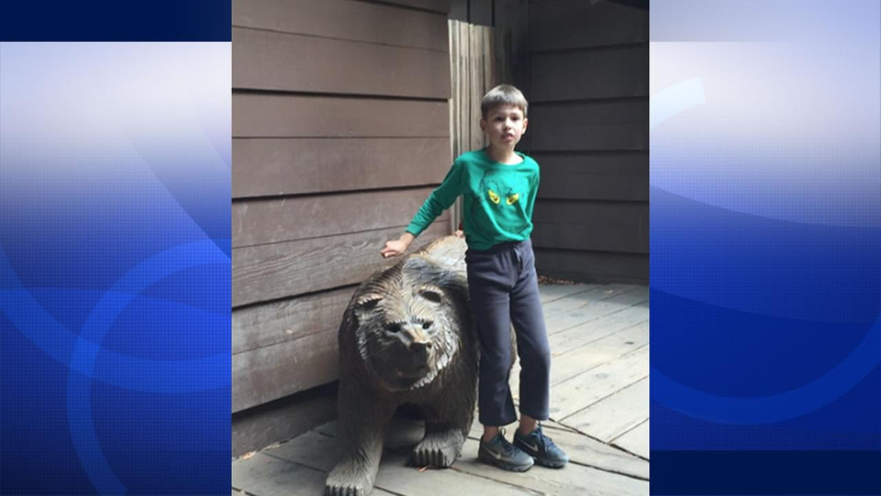 Danville police are searching for Eric Schneider a missing 8-year-old boy who was last seen riding a scooter in Danville, Calif. Sept. 17, 2015.