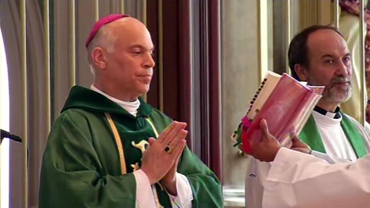San Francisco Archbishop Salvatore Cordileone is seen in this undated image.