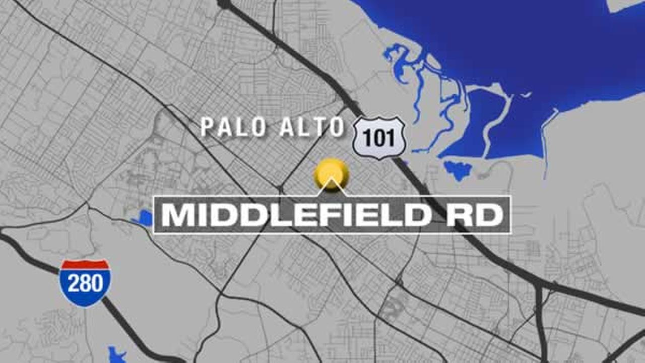 A woman was punched while walking her baby on Sunday, September 20, 2015 on Middlefield Road in Palo Alto, Calif.