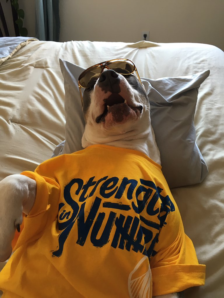 <div class='meta'><div class='origin-logo' data-origin='none'></div><span class='caption-text' data-credit='jakeman517/Twitter'>Dub Nation is showing Golden State pride by sending their photos to ABC7 with #DubsOn7. Go Warriors!</span></div>