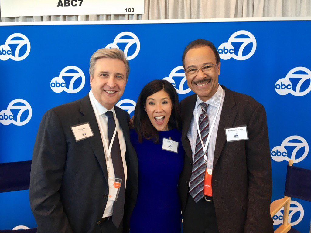 "<div class=""meta image-caption""><div class=""origin-logo origin-image none""><span>none</span></div><span class=""caption-text"">KGO-TV General Manager Bill Burton poses with Kristen Sze and Spencer Christian at the 2017 PBWC in San Francisco. (KGO-TV)</span></div>"