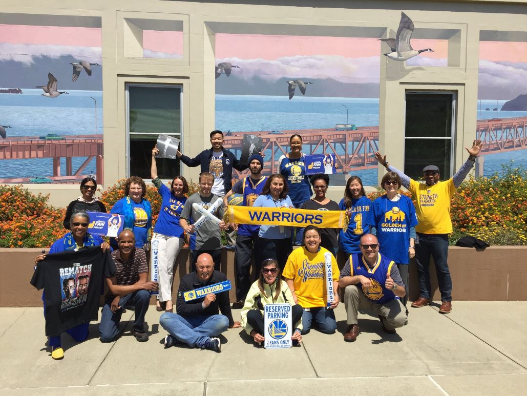 <div class='meta'><div class='origin-logo' data-origin='none'></div><span class='caption-text' data-credit='Photo submitted to KGO-TV by @JCattolico/Twitter'>Warriors fans show their spirit during the 2017-2018 season. Share your photos using #DubsOn7 and you may see them online or on TV!</span></div>