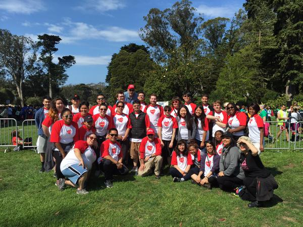 <div class='meta'><div class='origin-logo' data-origin='none'></div><span class='caption-text' data-credit='Photo submitted to KGO-TV by Joe F/Twitter'>Thousands of people came out to AIDS Walk San Francisco in Golden Gate Park on Sunday, July 19, 2015. Tag your pics #abc7now.</span></div>
