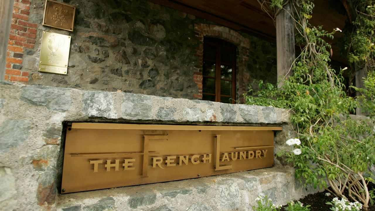 The French Laundry restaurant in Yountville, California.