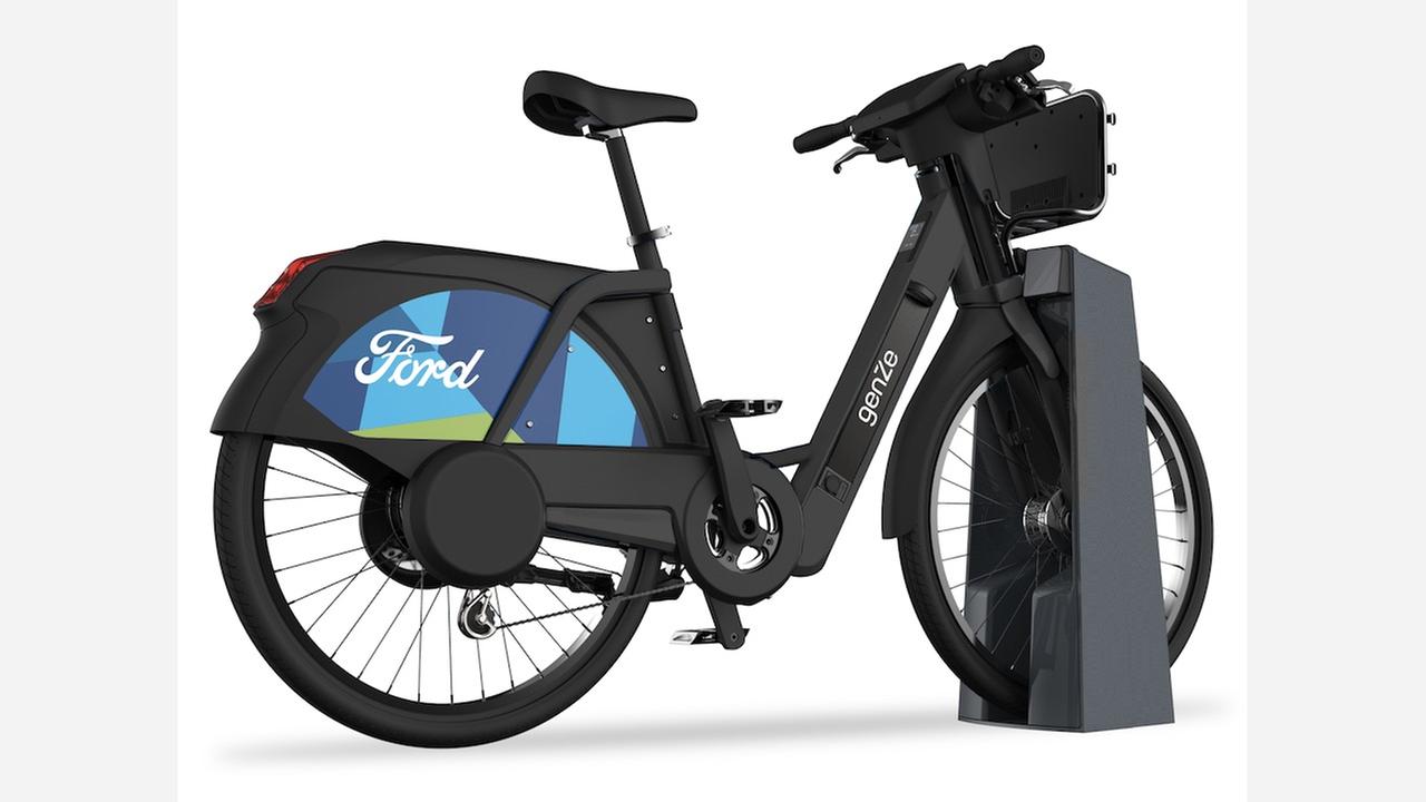 'Ford GoBike' adding 250 docking e-bikes in Bay Area