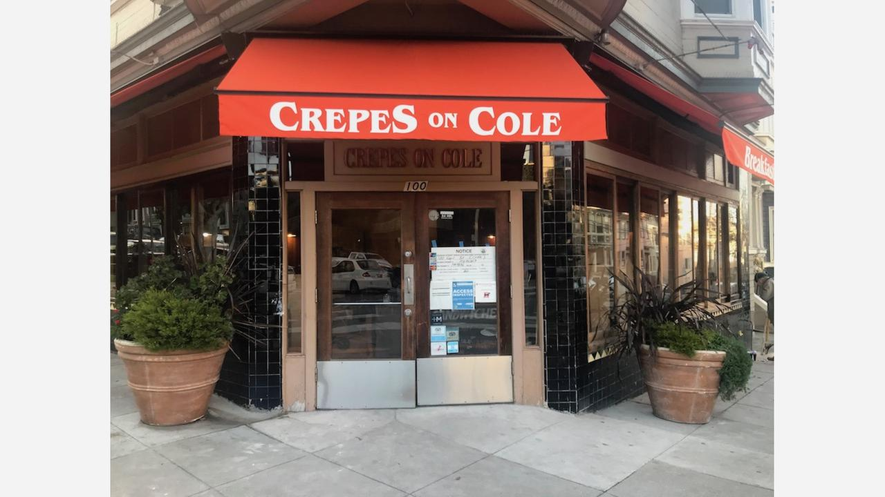 'Crepes On Cole' Temporarily Closes To Improve Accessibility