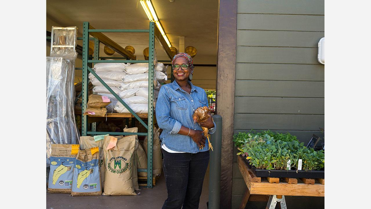 Yolanda Burrell, founder of Pollinate Farm and Garden Supply. | Photo: Pollinate