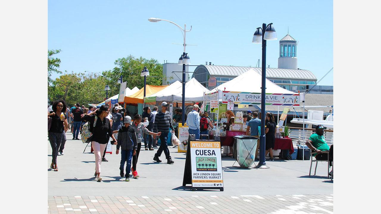 Jack London Square Farmers Market. | Photo: CUESA