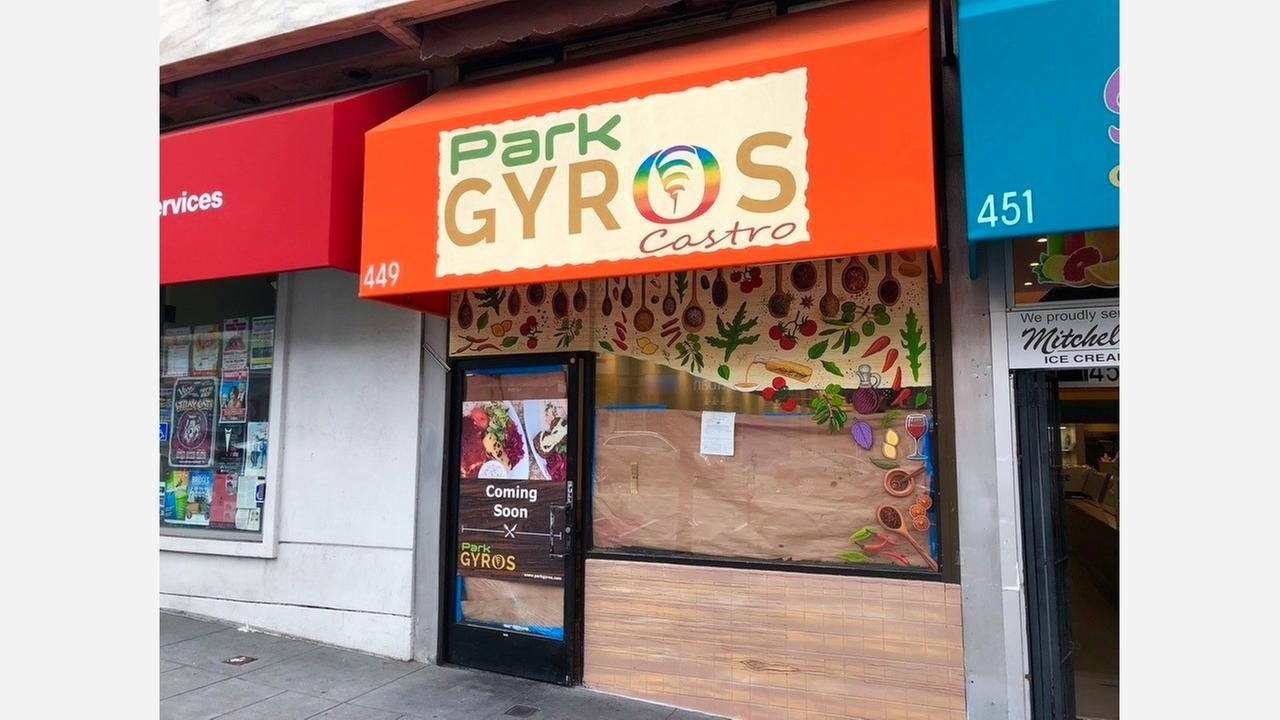 Park Gyros Castro opens in the former Sliders Diner space. | Photo: Steven Bracco/Hoodline
