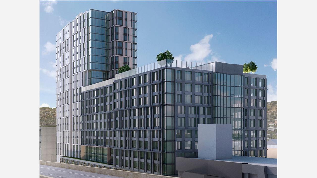Architectural rendering: Solomon Cordwell Buenz