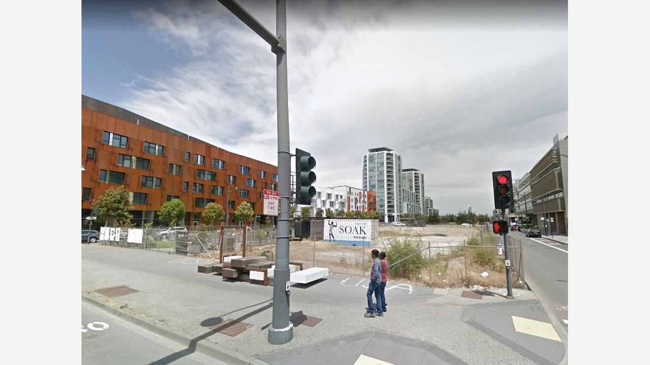 Vacant lot at 1379 Fourth St. in June 2017.   Photo: Google